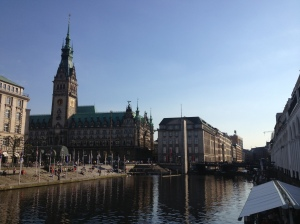 A glimpse of Hamburg